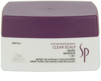Wella Professionals SP Clear Scalp maska proti lupinám
