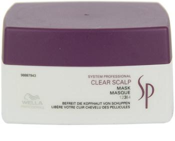 Wella Professionals SP Clear Scalp maska proti lupům