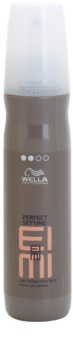 Wella Professionals Eimi Perfect Setting Fixation Spray For Shine And Softness Of Hair