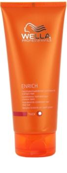 Wella Professionals Enrich acondicionador hidratante  para cabello duro, áspero y seco