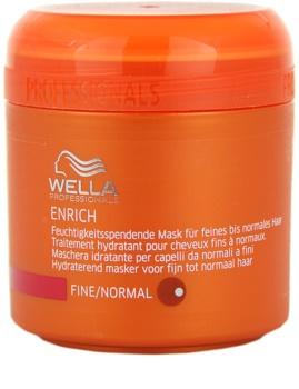 Wella Professionals Enrich маска  для тонкого та ослабленого волосся