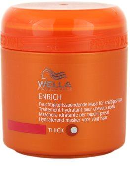 Wella Professionals Enrich hydratačná a vyživujúca maska pre silné, hrubé a suché vlasy