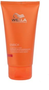 Wella Professionals Enrich cuidado iluminador e suavizante  para cabelos crespos e inflexíveis