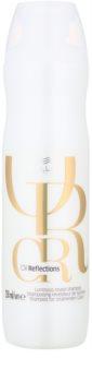 Wella Professionals Oil Reflections champô hidratante leve para cabelo brilhante e macio