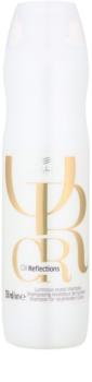 Wella Professionals Oil Reflections champú hidratante con fórmula ligera para dar brillo y suavidad al cabello