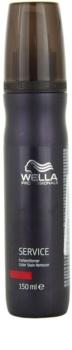 Wella Professionals Service emulzija za odstranjevanje barve za lase s kože za beljene lase