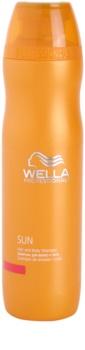 Wella Professionals SUN champú para cabello  y cuerpo after sun