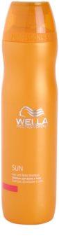 Wella Professionals SUN Shampoo voor Haar en Lichaam  After Sun