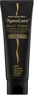 White Pearl NanoCare Whitening dentifricio con nanoparticelle d'oro e carbone attivo