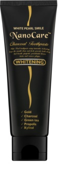 White Pearl NanoCare Whitening Toothpaste with Activated Charcoal and Nanoparticles of Gold