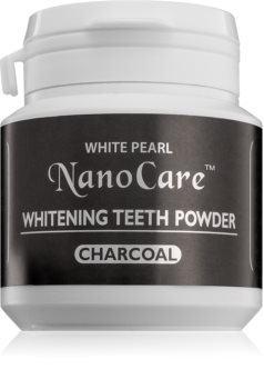White Pearl NanoCare Teeth-whitening Powder with Activated Charcoal