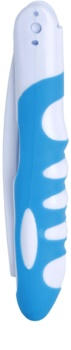 White Pearl Smile escova de dentes dobrável para viagem