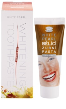 White Pearl Whitening pasta dental blanqueadora para fumadores