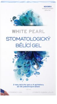White Pearl Whitening System gel blanchissant stomatologique