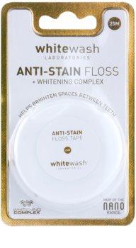 Whitewash Nano Anti-Stain dentálna niť s bieliacim účinkom