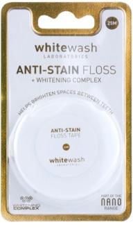 Whitewash Nano Anti-Stain Zahnseide mit bleichender Wirkung