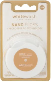 Whitewash Nano Dental Floss  With Whitening Effect