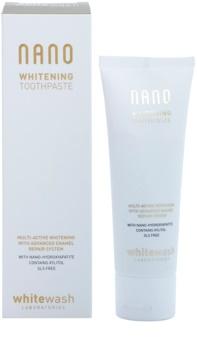 Whitewash Nano pasta de dientes blanqueadora multiactiva para recuperar el esmalte dental
