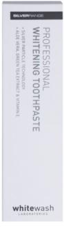 Whitewash Professional bleichende Zahncreme mit Silberartikeln