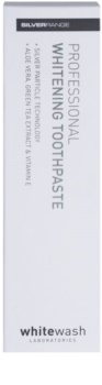 Whitewash Professional dentífrico branqueador com partículas de prata