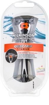 Wilkinson Sword Quattro Titanium maszynka do golenia