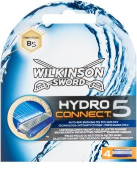Wilkinson Sword Hydro Connect 5 ανταλλακτικές λεπίδες 4 τεμάχια