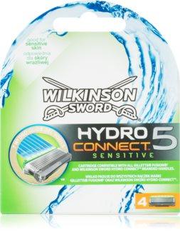 Wilkinson Sword Hydro Connect 5 Змінні картриджі для чутливої шкіри
