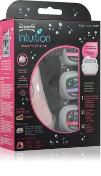 Wilkinson Sword Intuition Variety Edition sada na holení pro ženy