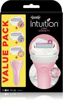 Wilkinson Sword Intuition Variety Edition sada na holenie pre ženy