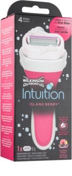 Wilkinson Sword Intuition Island Berry holicí strojek