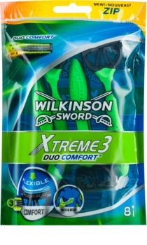 Wilkinson Sword Xtreme 3 Duo Comfort jednorazowe maszynki do golenia 8 szt