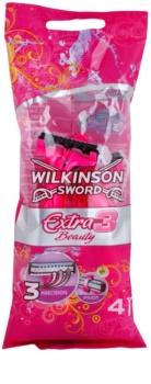 Wilkinson Sword Extra 3 Beauty Disposable Razors 4 pcs