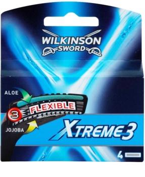 Wilkinson Sword Xtreme 3 lame di ricambio 4 pz