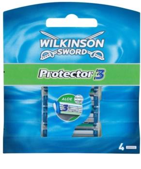 Wilkinson Sword Protector 3 náhradní břity
