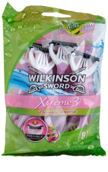 Wilkinson Sword Xtreme 3 Beauty Sensitive Disposable Razors 8 pcs