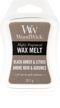 Woodwick Black Amber & Citrus віск для аромалампи 22,7 гр