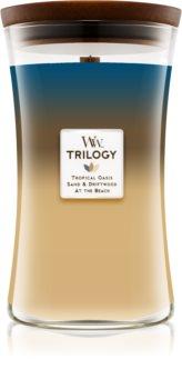 Woodwick Trilogy Nautical Escape świeczka zapachowa  609,5 g z drewnianym knotem