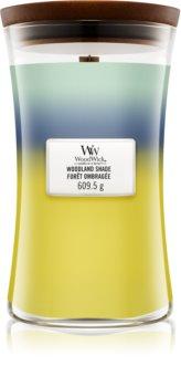 Woodwick Trilogy Woodland Shade vonná svíčka 609,5 g s dřevěným knotem