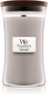 Woodwick Wood Smoke lumânare parfumată  609,5 g cu fitil din lemn