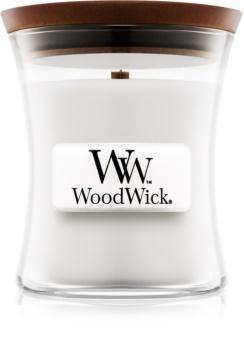 Woodwick Magnolia vonná sviečka 85 g s dreveným knotom