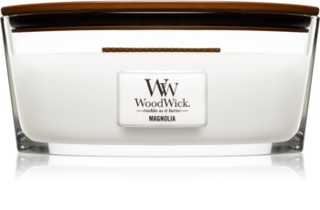 Woodwick Magnolia illatos gyertya  fa kanóccal (hearthwick) 453,6 g