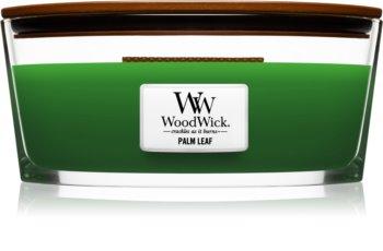 Woodwick Palm Leaf illatos gyertya  453,6 g fa kanóccal (Hearthwick)