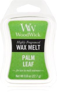 Woodwick Palm Leaf cera per lampada aromatica