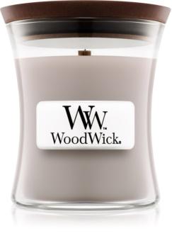 Woodwick Wood Smoke vonná svíčka 85 g malá