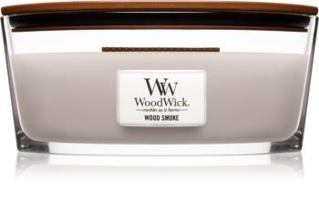 Woodwick Wood Smoke illatos gyertya  fa kanóccal (hearthwick) 453,6 g