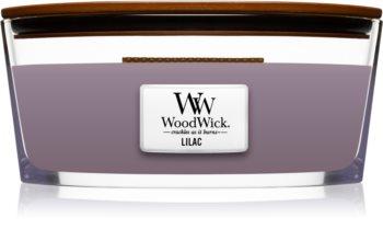Woodwick Lilac ароматна свещ  с дървен фитил (hearthwick)