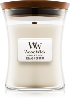 Woodwick Island Coconut Scented Candle 275 g Medium