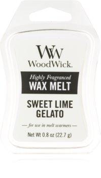 Woodwick Sweet Lime Gelato ceară pentru aromatizator 22,7 g