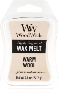Woodwick Warm Wool cera per lampada aromatica 22,7 g