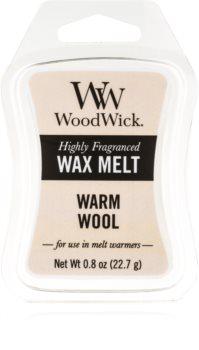 Woodwick Warm Wool wax melt